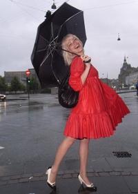 Redfacehunterumbrella